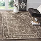 Safavieh Artisan Collection ATN326H Vintage Oriental Brown Distressed Area Rug (3′ x 5′) For Sale