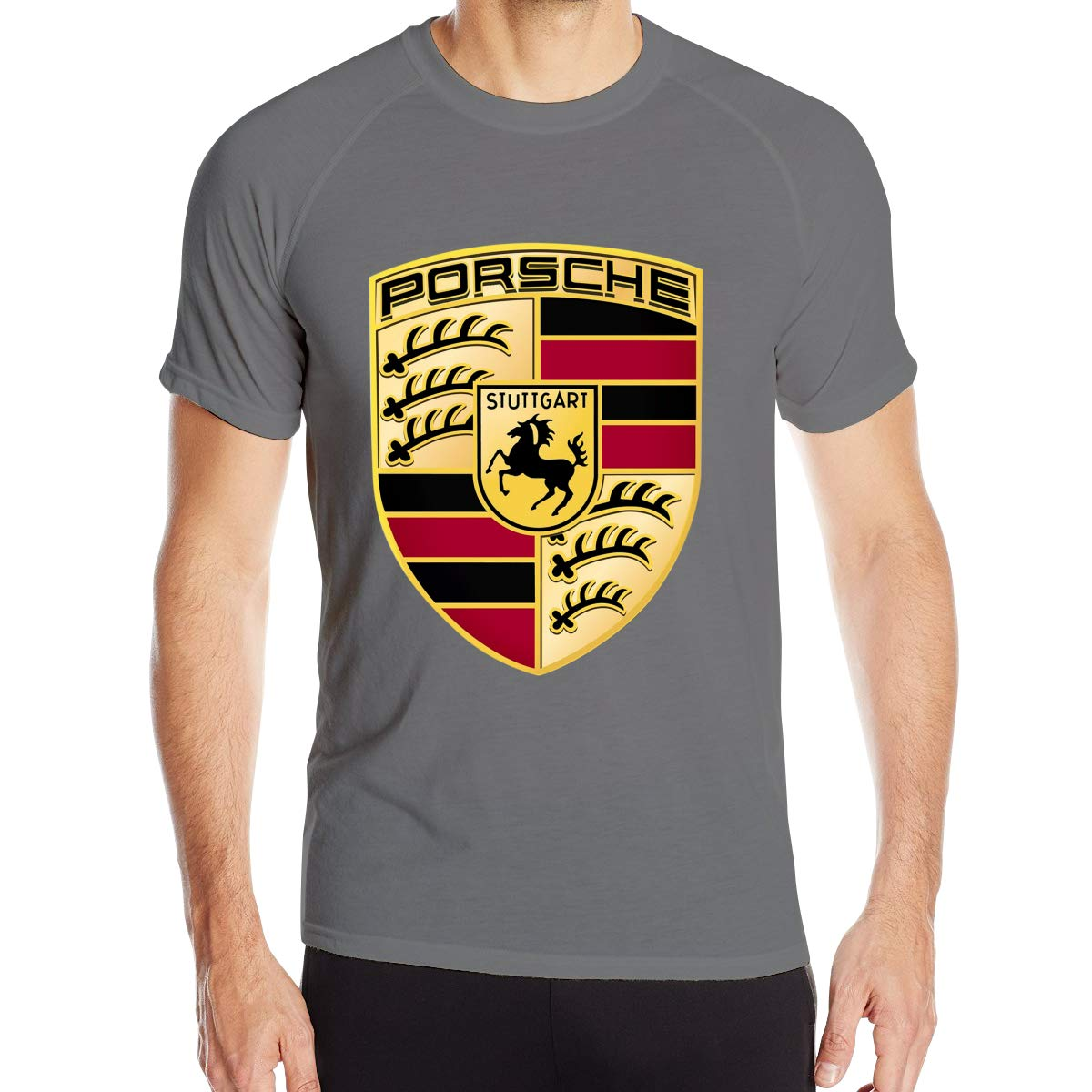 Zhyhang Mens Ferdinand Porsche Tshirt Deep Heather L by Zhyhang