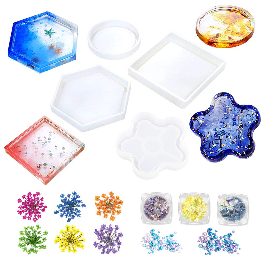 Epoxy resin moulds
