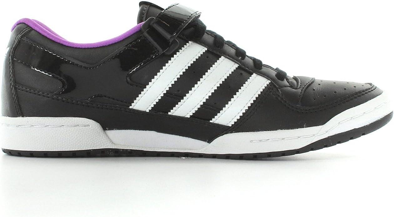 adidas Forum Sleek w - Zapatillas de Deporte de Cuero para Mujer Negro Noir, Blanc et Violet 36 2/3: Amazon.es: Zapatos y complementos