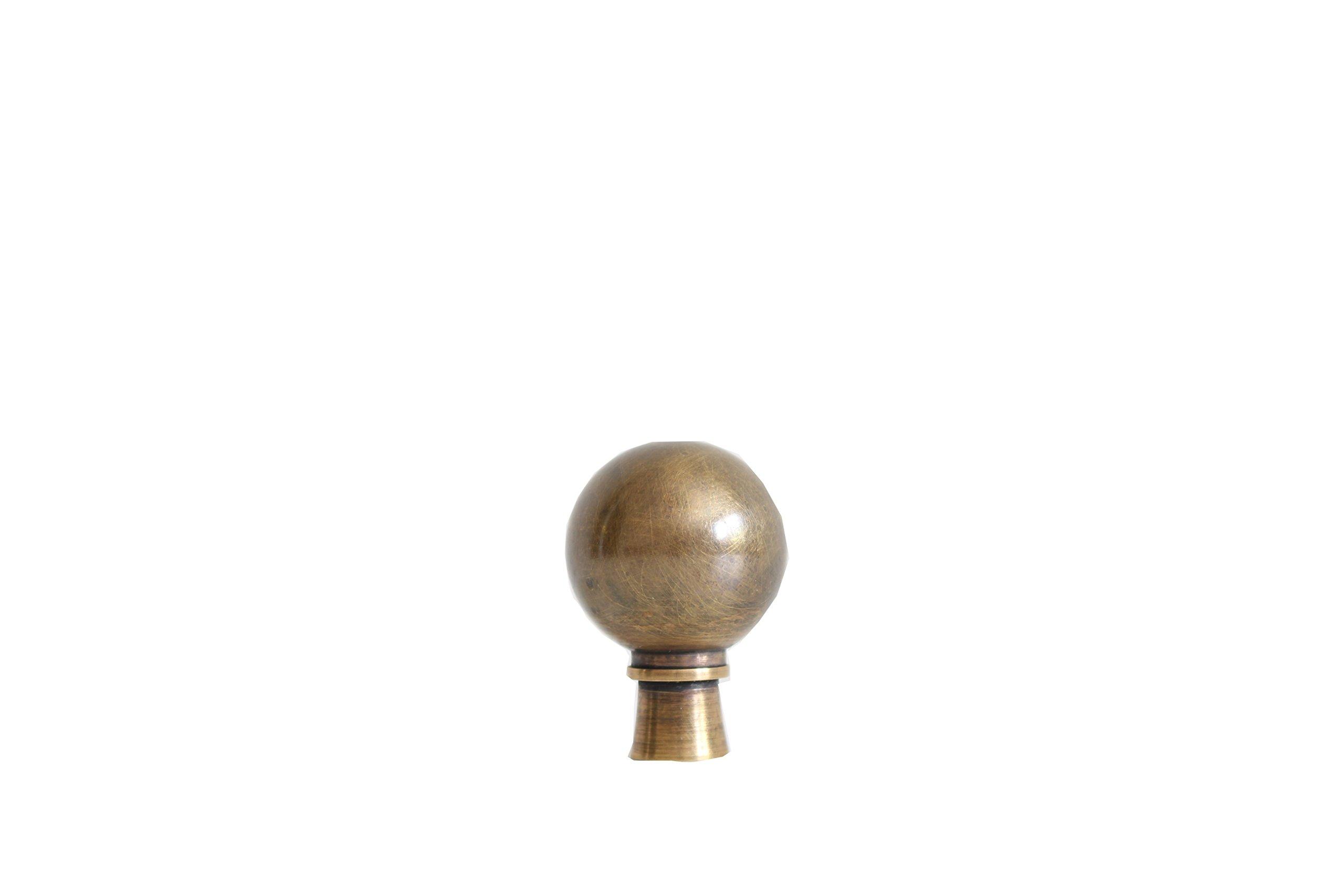 Bronze Ball Lamp Finial