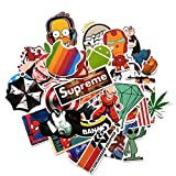 (Pack of 200) Random Music Film Vinyl Skateboard Guitar Travel Case Sticker ...