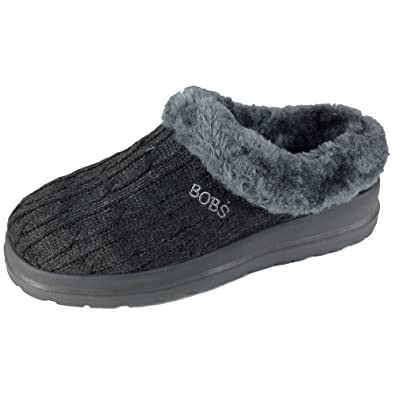 The Newest Skechers Bobs Cherish Wonder Fall Black Slippersh