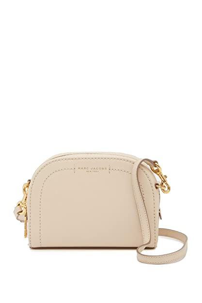 9a297b16a Marc Jacobs Playback Leather Crossbody Bag Cotton: Amazon.co.uk ...