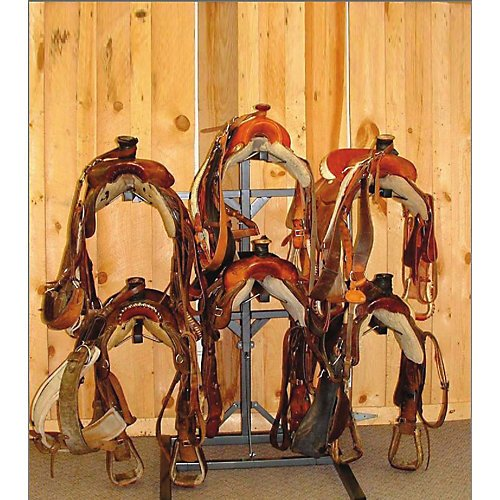 Equi Racks Horseman 6 Saddle Rack by Equi-Racks