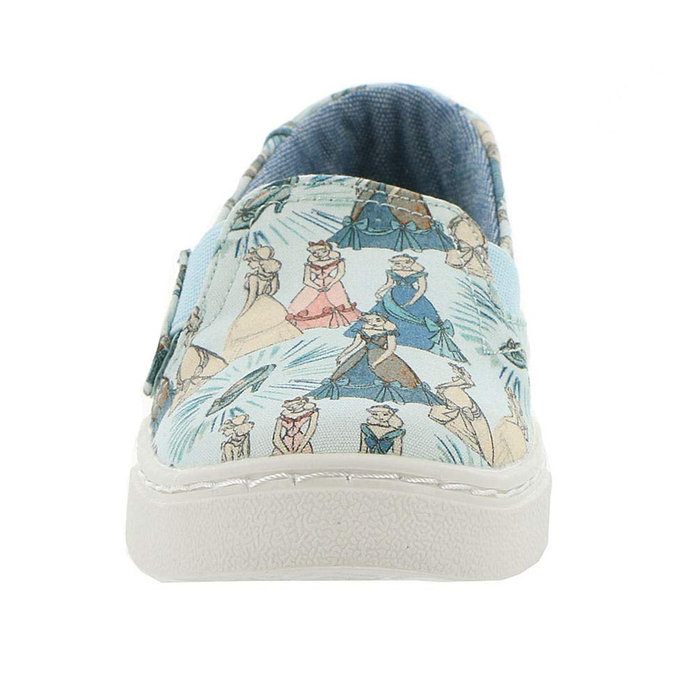TOMS Girl's, Luca Slip on Shoes Disney Cinderella 5 M by TOMS Kids (Image #5)