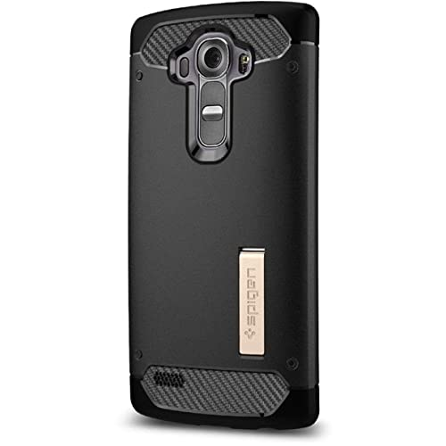 Coque LG G4, Spigen® Ultimate protection contre les chutes et les impacts, [Black] [Rugged Armor] Coque pour LG G4, G4 Coque, Coque G4 - (SGP11516)