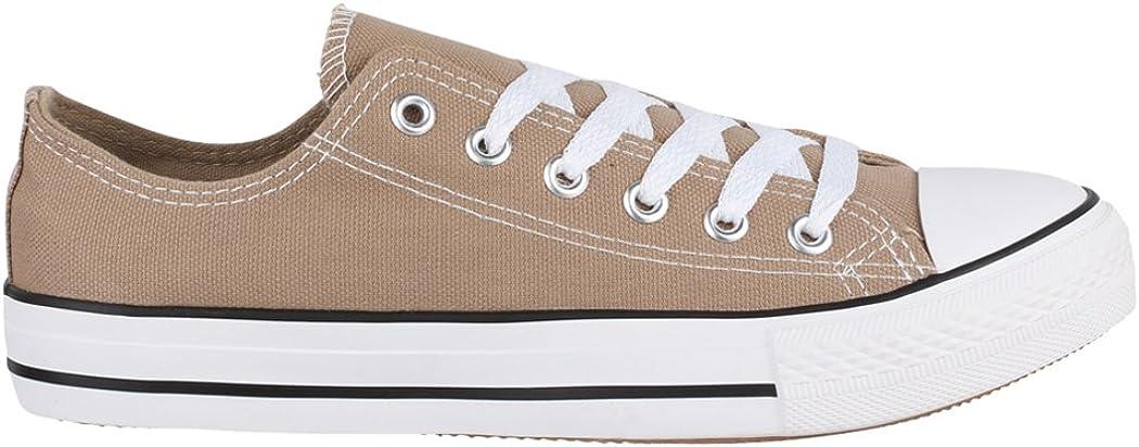 Elara Chaussures de Sport Unisexe en Tissu /à Dessus Bas Chunkyrayan
