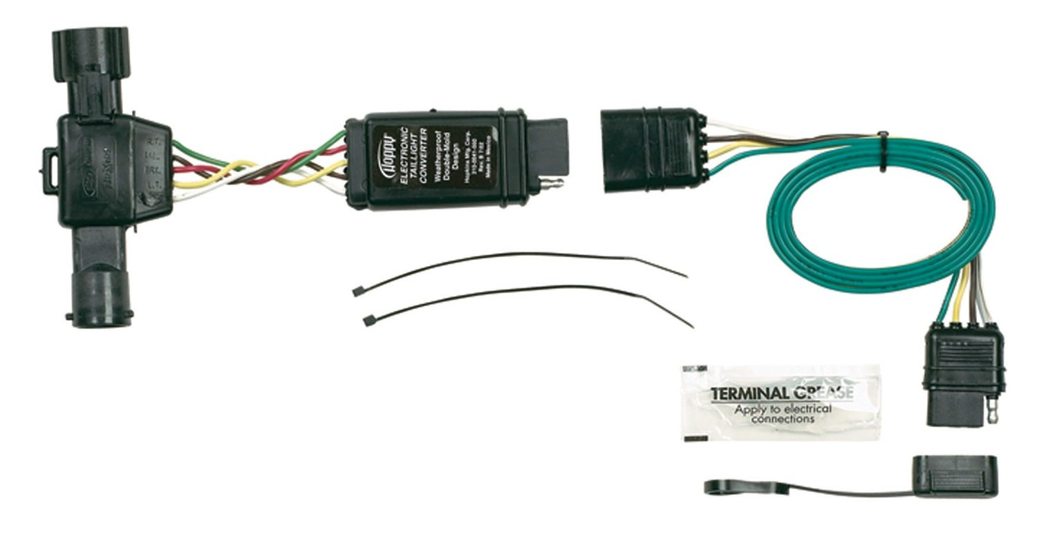 ford ranger trailer plug wiring ford image wiring amazon com hopkins 40215 plug in simple vehicle wiring kit on ford ranger trailer plug wiring