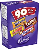 Cadbury Fun Treats Chocolate, 90 Count