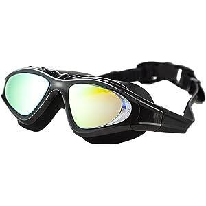 1f5d537b8da Amazon.com   Whale Negative Optical Corrective swim Goggle Mirrored ...