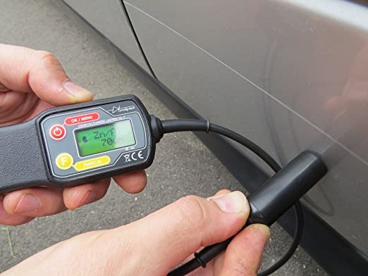 prodig-tech gl7s-pro Pintura capa coche Meter Medidor de espesor Tester UV w Wired Sonda Etui: Amazon.es: Coche y moto