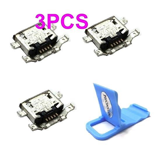 Micro USB Charging Sync Data Port Charger Dock Connector for Motorola Moto  G Plus (4th Gen) XT1644 and Moto G4 Plus XT1641 + PHONSUN Portable
