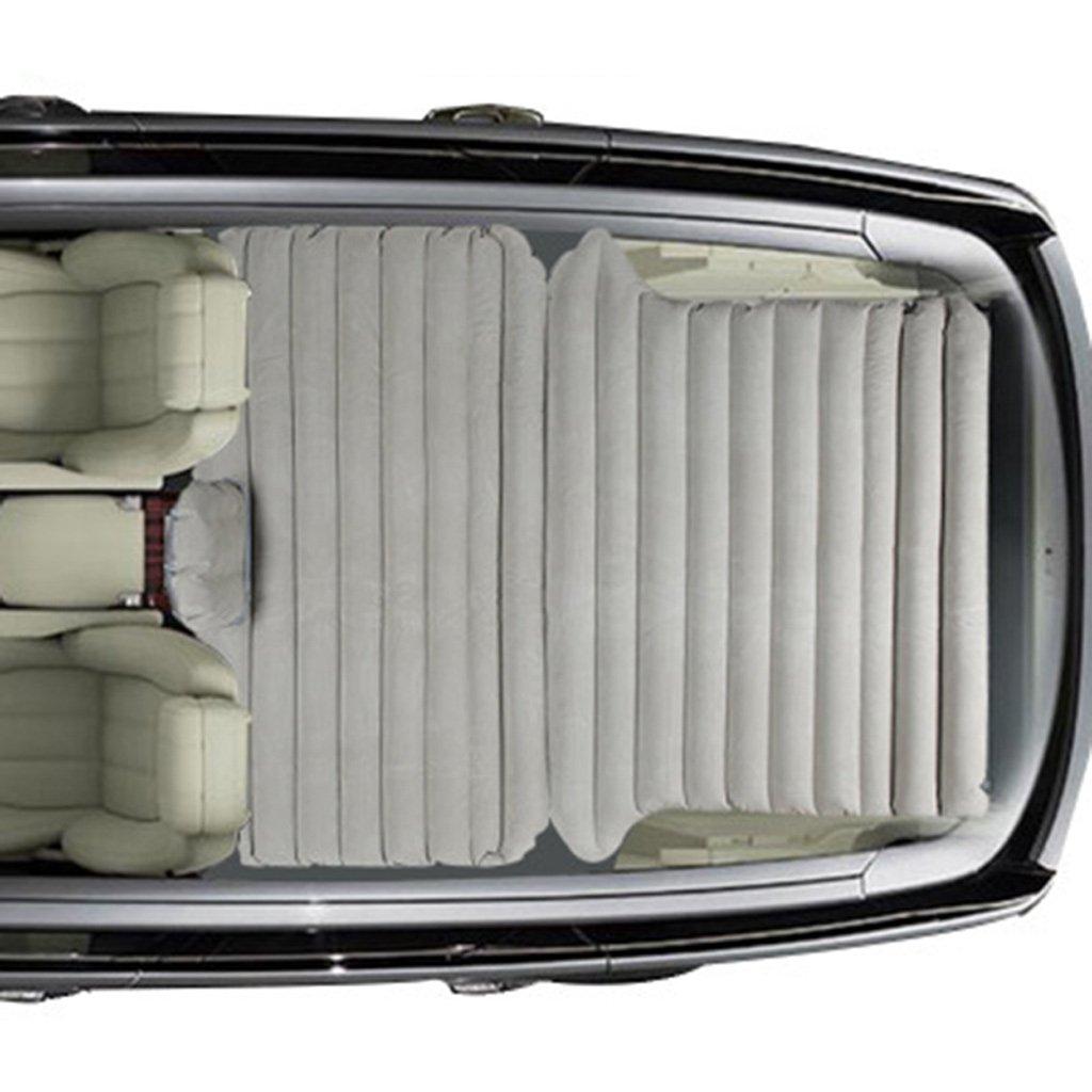 車のインフレータブルベッドSUVの車の旅行ベッドのトランクエアベッドSUVの寝台マットカーマットレス B07FCK42SC Gray Gray