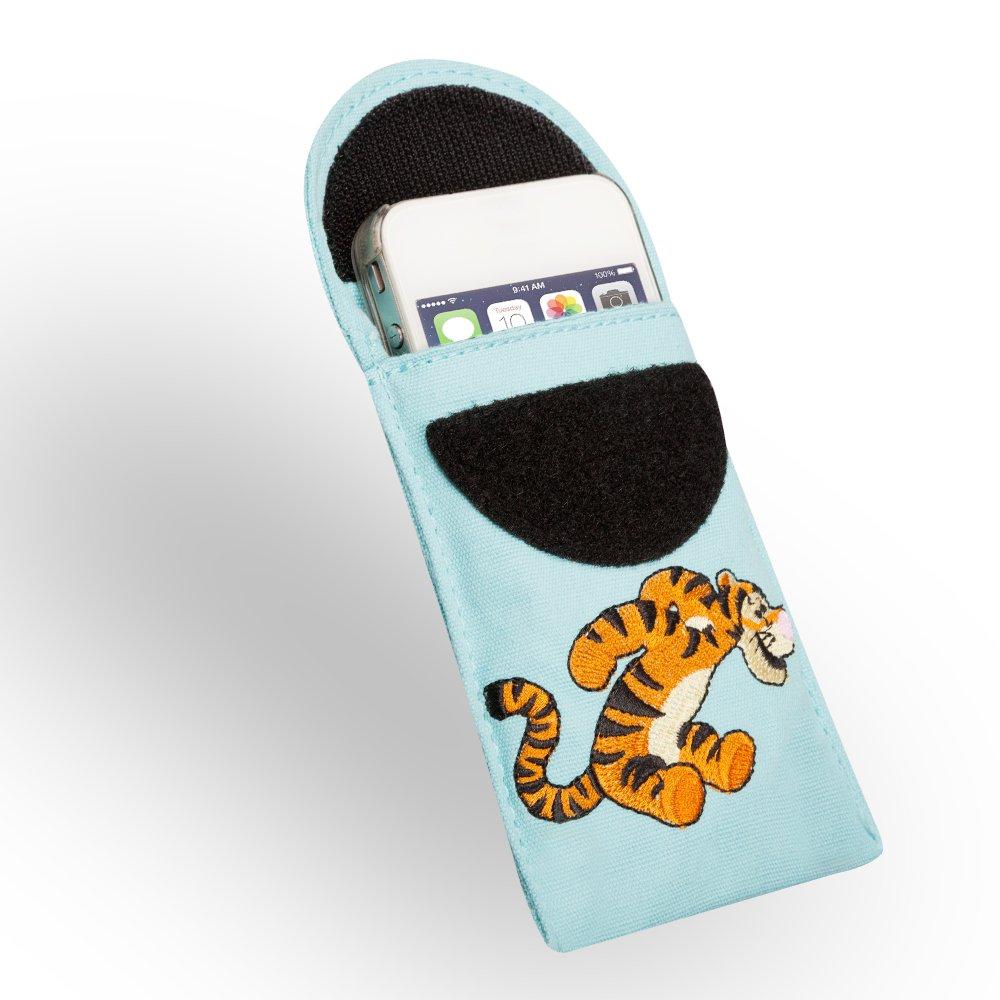 Apple iPod Nano Disney dypb Tigrou /Étui Universel pour t/él/éphones Accessible mod/èles appareils Photo Ultra Slim Bleu