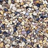 Natural Color Aquarium Stones Pebbles Substrate Gravel, 0.5-1 cm, 5 kg