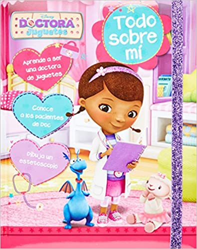 Disney Doctora Juguetes: Todo sobre mi (Book of Secrets) (Spanish Edition): Parragon Books: 9781472364999: Amazon.com: Books