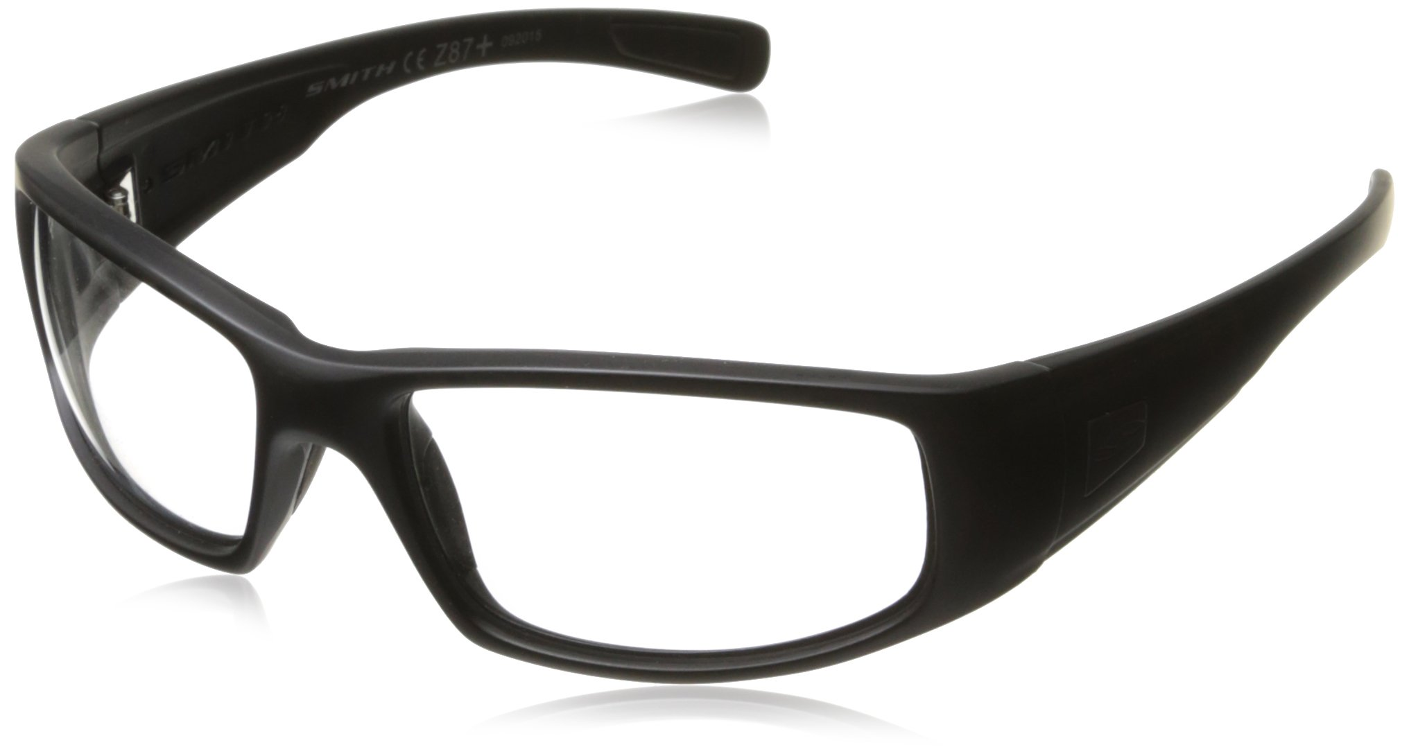 4cc7e3d15d Amazon.com   Smith Optics Hideout Tactical Sunglass with Black Frame (Clear  Lens)   Airsoft Goggles   Sports   Outdoors