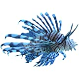 Wallmonkeys Pterois 01 Peel and Stick Wall Decals (12 in H x 12 in W)