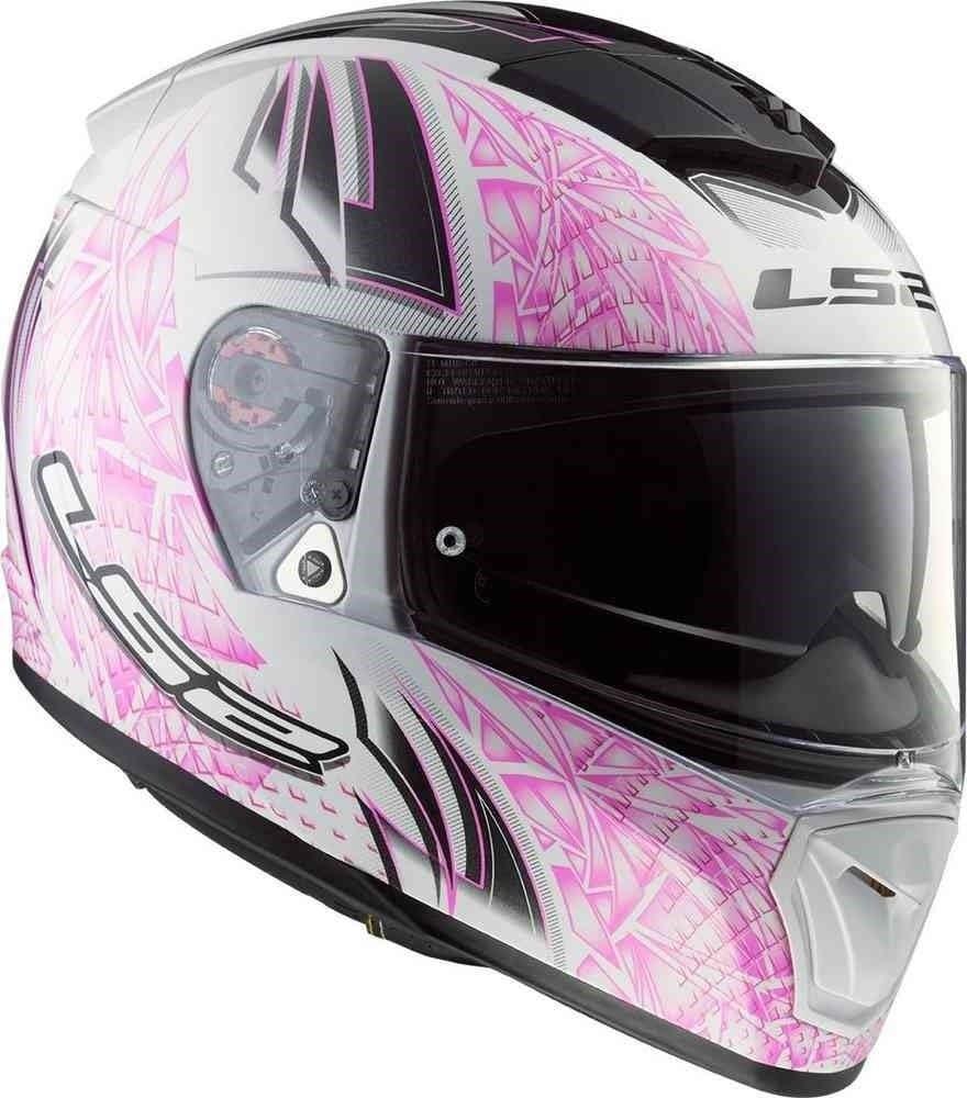 Non incluso Doppia Visiera Casco moto Integrale Integrali 53-54cm Bianca Rosa XS LS2 FF390 BREAKER ROMBO Bluetooth Pronto