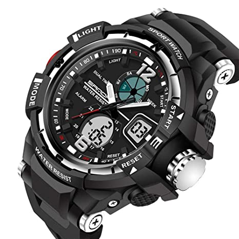 RNGNBKLS Reloj Deportivo Digital para Hombre, para Uso Al ...