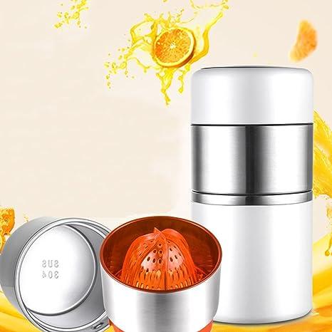 Chunse Mini Exprimidor Manual Del Acero Inoxidable 304, Exprimidor Del Limón, Fruta Cítrica De