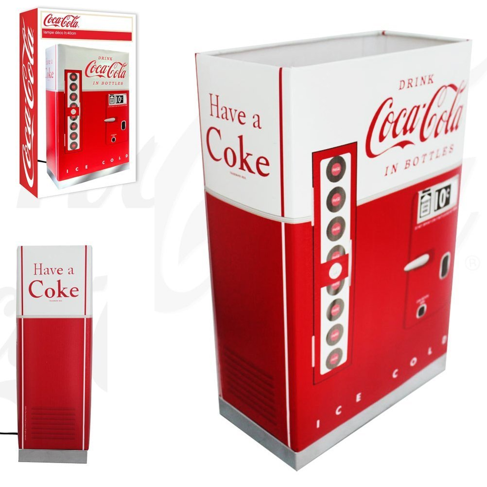 Coca Cola mesa lamp Retro