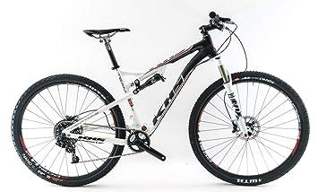 """KHS Team 29 FS 18.5/"""" Medium Carbon 29er Full Suspension MTB Bike Frame NEW"""