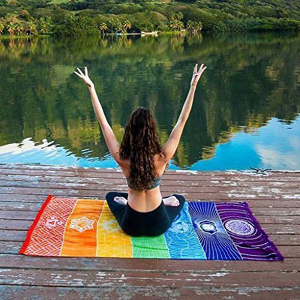 Ogquaton Tapicería de la Manta de la Yoga de la tapicería ...