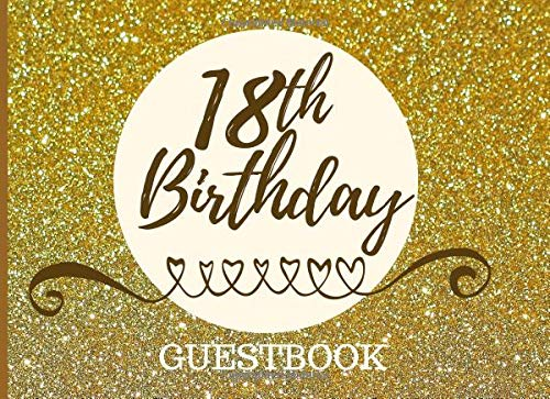 Pdf Parenting 18th Birthday Guestbook: Registry Memory Keepsake - Signature Registration Guest Book