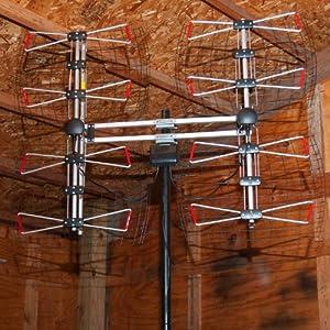 Antennas Direct 8 Element Bowtie Indoor/Outdoor HDTV Antenna - 70