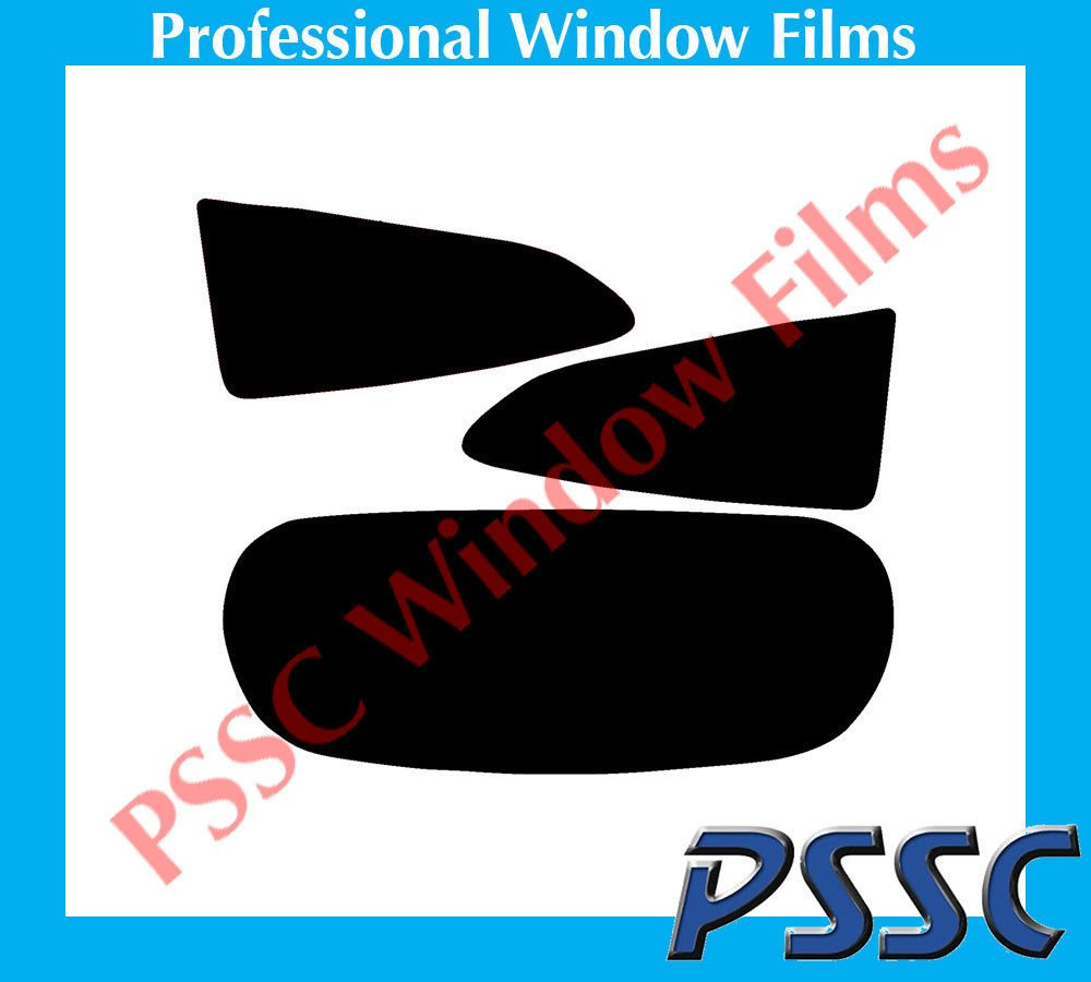 PSSC Pre Cut Rear Car Window Films fits for Ford Fiesta 3 Door 2008 to 2016 05/% Very Dark Limo Tint