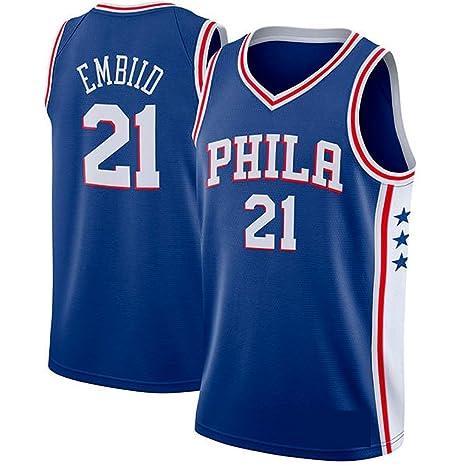 runvian Camiseta de Baloncesto para Hombre, NBA Philadelphia ...