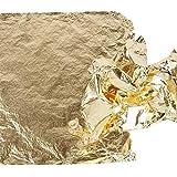Creativ Imitation feuille métal, feuille 16x16 cm, or, 25 feuille