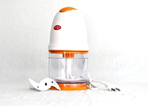 Food Processor Electric Chopper Vegetable cutter, Push chopper, Fruits, Nuts, Ice Cubes, 2 Speed Kitchen Grinder With Sharp Blades chopper blender food processor electric chopper for kitchen