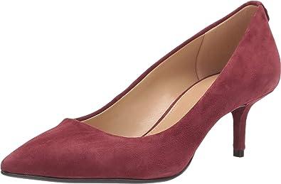 shopping good out x on feet images of Amazon.com | Michael Michael Kors MK Flex Kitten Pump Brandy 8.5 ...