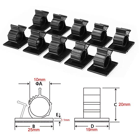 Amazon.com: 20Pcs self-Adhesive Cable Clamps for Someone's ... on installation diagram, lighting diagram, office manual, office frame, office installation, office computer diagram, internet diagram, network cable diagram, solar panels diagram, programming diagram, office accessories, office building diagram, troubleshooting diagram, transformers diagram, office furniture diagram, office thermostat, office dimensions diagram, surround sound diagram, hardware diagram,