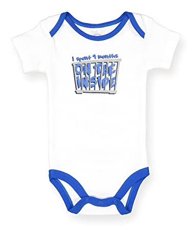 """39c4dd42b Image Unavailable. Image not available for. Color: DD Baby Onesies""""i  Spent 9 Months ..."""