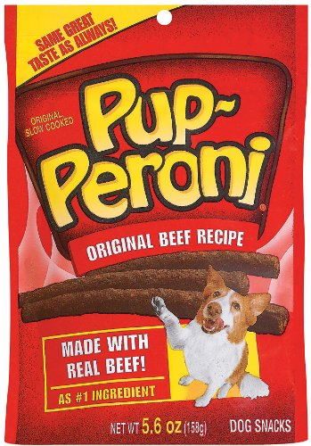 Pup-Peroni Original Beef Recipe, 5.6-Ounces (Pack of 4), My Pet Supplies