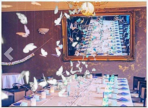 Tavolo Compleanno Uomo : Okaytec pz farfalla segnaposto da tavolo segnatavolo