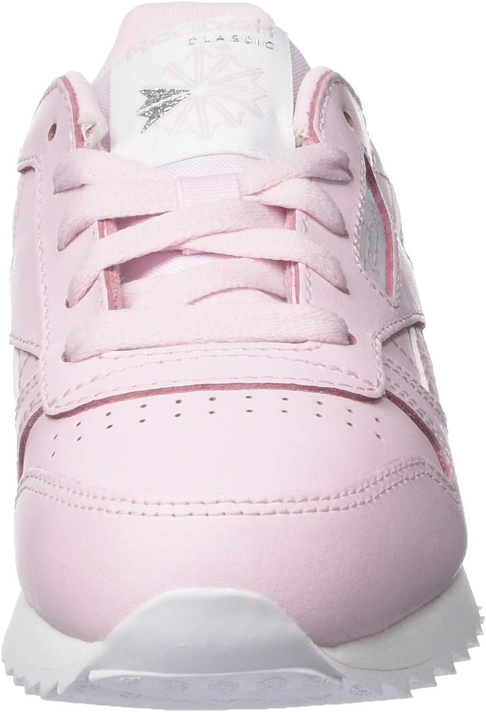 Scarpe da Ginnastica Bambina 33 EU Pixel Pink//Bianco Reebok Classic Leather