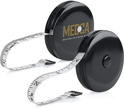 2x Mini Retractable Tape Body Measure Ruler Sewing Tailor Pocket Flat Handyha