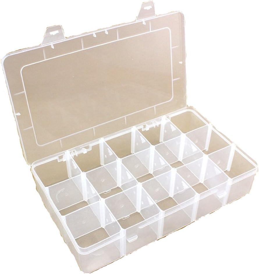 Nube-dress - Caja de Almacenamiento de plástico Duro con separadores extraíbles: Amazon.es: Hogar