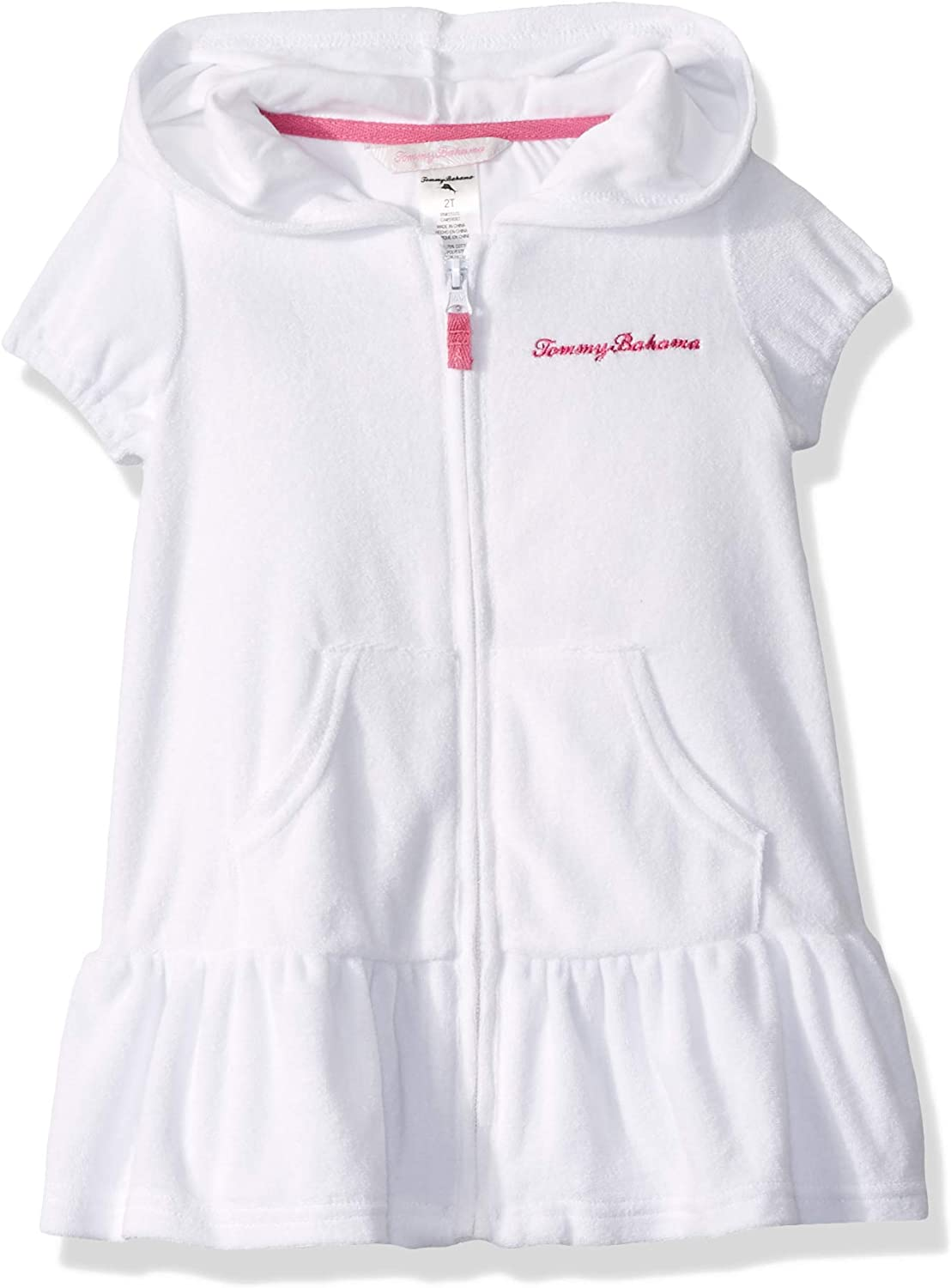 Tommy Bahama Girls Zip Front Swimsuit Cover Up