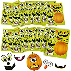 Halloween Stickers - 24 Sheets Kids Jack...