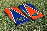 Florida UF Gators Regulation Cornhole Game Set Triangle Gator Version