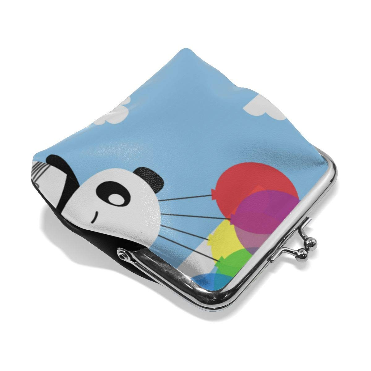 Fashion Balloon Panda Key Buckle Coin Purse For Womens