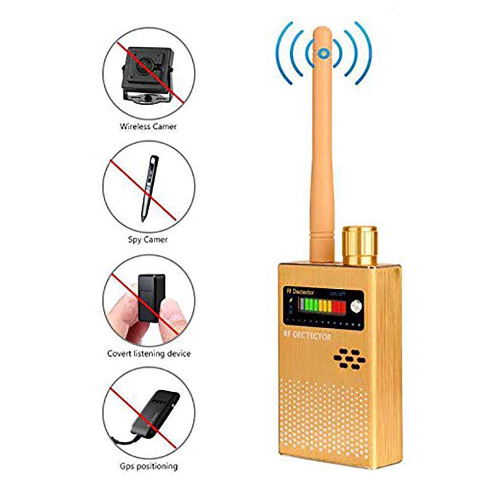 YTBLF Wireless RF Signal Detector, GPS Camera Signal Detector, Used to Hide Camera GSM Listening Device GPS Radar Radio Scanner