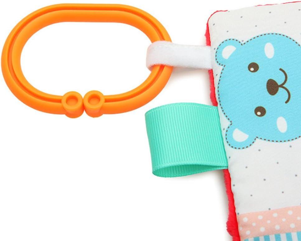 Cute Bear Newin /étoile Appease Serviette Toys Baby Calm Chiffons Serviette Couverture Couverture Tag Ours