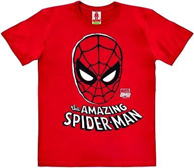 Logoshirt - Marvel Comics - Spider-Man - Máscara - Camiseta 100 ...